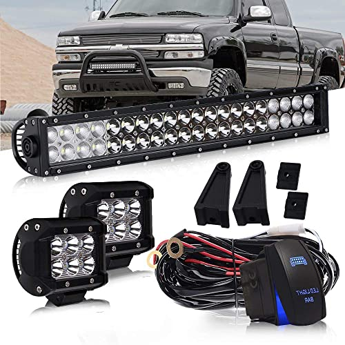 Quakeworld Black Mesh Replacement Front Grille Grill Rebel Style for 2013 2014 2015 2016 2017 2018 Dodge Ram 1500 With 3 Amber LED lights No R/&A/&M Letters